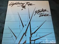 Sealed Private Boston MA Hard Rock LP : Lightning Rose ~ Strikes Twice ~ Bandit