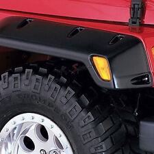 4pcs Front+Rear Pocket-Rivet Style Fender Wheel Flare for 97-06 Jeep Wrangler