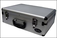 Brand New Quality Aluminium Tools / Equipment / Brief Case Box Large Size Silver
