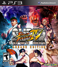 Super Street Fighter IV: Arcade Edition PS3, New Playstation 3