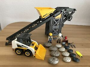 Playmobil 4041 Förderanlage mit Kompaktlader Baustelle