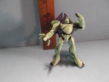 "#B759 Unknown Anime 4""in Light Green Gundam Robot"