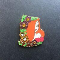 DisneyShopping.com - Flower Portrait Series - Jessica Rabbit Disney Pin 60109