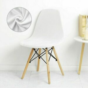 1/2/4/6 Pcs Seat Cover for Shell Chair Washable Removable Armless Shell Simple