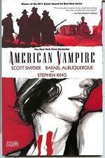 American Vampire Vol 1, First Printing. Paperback
