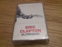 ERIC CLAPTON Slowhand CASSETTE TAPE Classic Rock