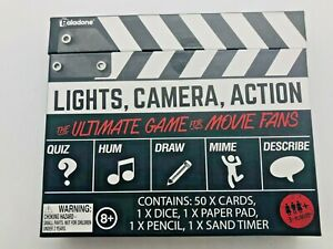 Paladone's Lights, Camera, Action The Ultimate Game for Movie Fans