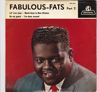 """Fats Domino - Fabulous Fats Dutch Ep - Part 2 """" Lil' Liza Jane , Mardi Gras .."""""""