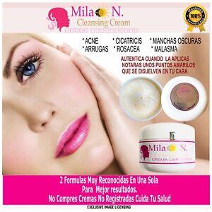 CREMA MILA - NUNN  LA ORIGINAL 100% REALMENTE  SKIN CARE MILA N.