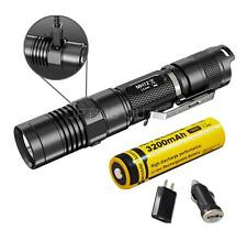 Nitecore MH12 1000 Lumens USB Rechargeable LED Flashlight +3200mAh Battery (P12)