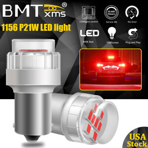 2X 7506 1156 Canbus LED Brake Stop Tail Signal Light Bulbs Lamps for Audi BMW