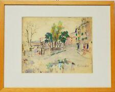 Pastell Nini Consolaro Italien Valpolicella 1975 Sammlung Karl Schott 40x32 cm