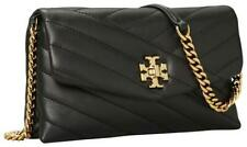 Tory Burch KIRA CHEVRON CHAIN WALLET - Black