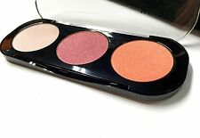Makeup Forever 3 PC. Palette with Shimmery Powder & 2 Shades Blush-Peach & Red