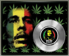 Bob Marley 45 Record Poster Art Music Memorabilia Plaque Wall Decor