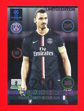 CHAMPIONS LEAGUE 2014-15 Panini - XXL Card Limited Edition - IBRAHIMOVIC - PSG