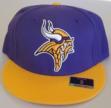 NEW! NFL Minnesota Vikings  Embroidered Fitted Cap 8
