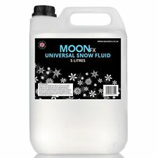 MoonFx Universal Snow Fluid 5 Litres (Ready to use) works in all machines 5L