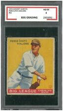 "PERCE ""PAT"" MALONE 1933 GOUDEY #55 CHICAGO CUBS GRADED 4 VG-EX ~A5box"