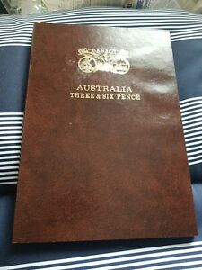 Australia Threepence and Sixpence Set Complete..