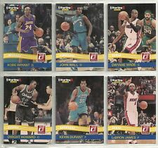 2010-11 PANINI 6-Card Starting 5 Basketball Set   Kobe Bryant  Lebron James  +++