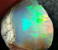 Ethiopian Opal Welo Rough 15.75 CTs AAA + Cutting Grade BRIGHT 5/5 USA DEALER