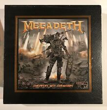 Megadeth Death By Design HC Deluxe 4 albums Warheads of Foreheads Vinyl Included