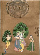 U-Pick Hand painted Indian Miniature Painting - Free Shipping