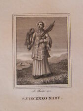 San Vincenzo Martire Saragozza Ugenti Vicenza Adrano Lisbona 1840