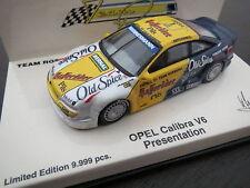 RAR: PMA/Minichamps Opel Calibra V6 Presentation K. Ludwig, 1:64, TOP !
