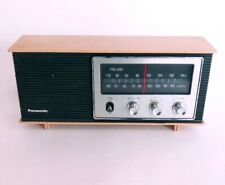 Panasonic Radio AM FM VTG Working Retro RE-6283 AC 120V Beige Black home decor