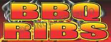 2'X5' BBQ RIBS BANNER Outdoor Sign Barbeque Chicken Pulled Pork Brisket Smoked