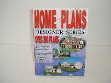 Home Plans Designer Series Over 300 Plans Book