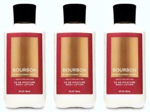 3 Bath & Body Works Bourbon Men's Collection Body Lotion