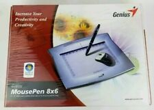 GENIUS MousePen 8x6 Graphic Tablet Home Office Draw Paint BRAND NEW!