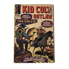 Vintage Kid Colt Outlaw Marvel Comic Issue 125 NOV Day of the Gunslingers