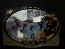 Ray Bourque 1996-97 Upper Deck Holoview Heroes #HH1 Card NM/M Boston Bruins