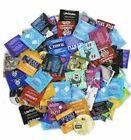 50 Condoms Sampler Pack Lifestyles, Crown, One, Trustex & More Condoms !