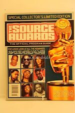 The Source Awards Official Program Guide 2004 Limited Edition