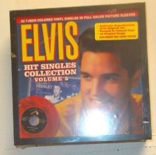 ELVIS PRESLEY, 23 Colored Vinyl  #2 45rpm Box Set with Picture Sleeves, NEW