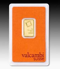 Goldbarren 5g 5 Gramm Valcambi Suisse Blister Gold 99,99 gold bar