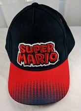 Super Mario Brothers Baseball Cap Hat Trucker Sewn 3D one size Nintendo