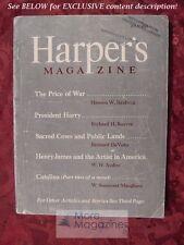 HARPER's July 1948 W. H. AUDEN W. SOMERSET MAUGHAM BETTY SMITH PETER DE VRIES