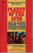 Planet Of The Apes Man The Fugitive by George Alec Effinger 1974 1st ed Pb Fn