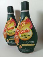 2-pk Gain w/ Essential Oils Concentrated Laundry Detergent, 16 oz ea, 32 oz ttl