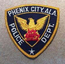 AL Phenix Alabama Police Patch