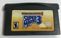 Super Mario Bros 3 Nintendo Gameboy Advance #4 Authentic GBA