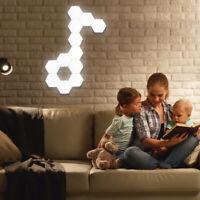 Lifesmart LED Quantum Nachtlicht Lampe Wandleuchte Hexagon Fernbedienung Dekor