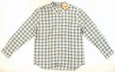 Levi's Mens Button Down Shirt Longsleeve Size XX-LARGE Blue / White Plaid