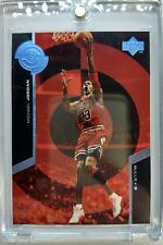 1998 98 UPPER DECK SUPER POWERS Michael Jordan #S30, Rare Blue FOIL INSERT BULLS